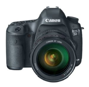 Canon EOS 5D Mark 3 22.3MP Digital SLR Camera with 24-105mm Lens