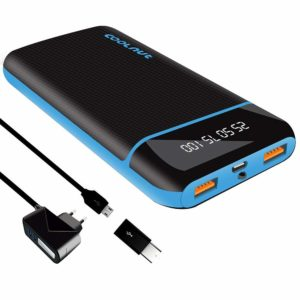 Coolnut 20000 mAh-best power bank for iphone in India 2020