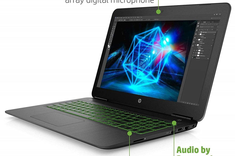 HP Pavilion Gaming 15-bc504TX-best gaming laptop under 60000