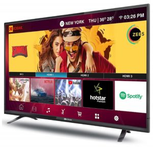 Kodak 102 cm -best smart led tv under 50000 in India 2020