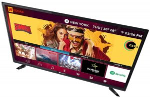 Kodak 40inch-best smart led tv under 40000 in India 2020