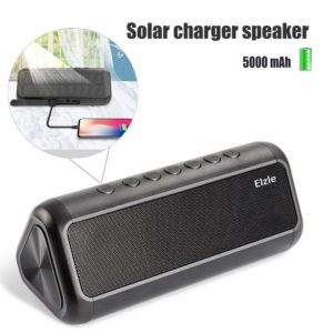 Solar Bluetooth Speaker with 5000mAh Power Bank-best bluetooth speaker in India 2020