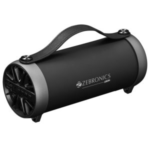 Zebronics Portable Bluetooth Speaker with AUX Function, USB Support