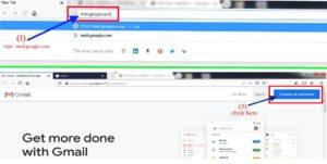 how to setup a gmail account