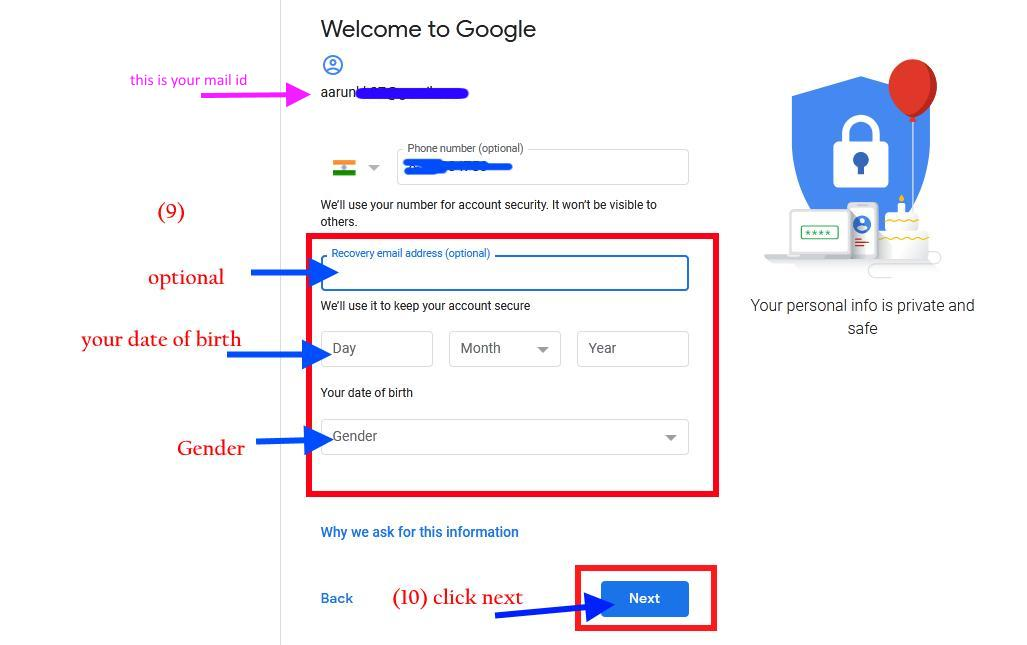 how to setup a gmail account on my computer