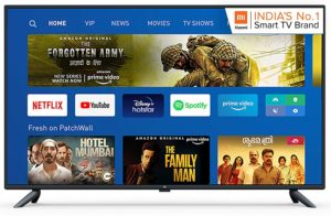 Mi Android LED TV-best smart led tv under 30000 in India 2020