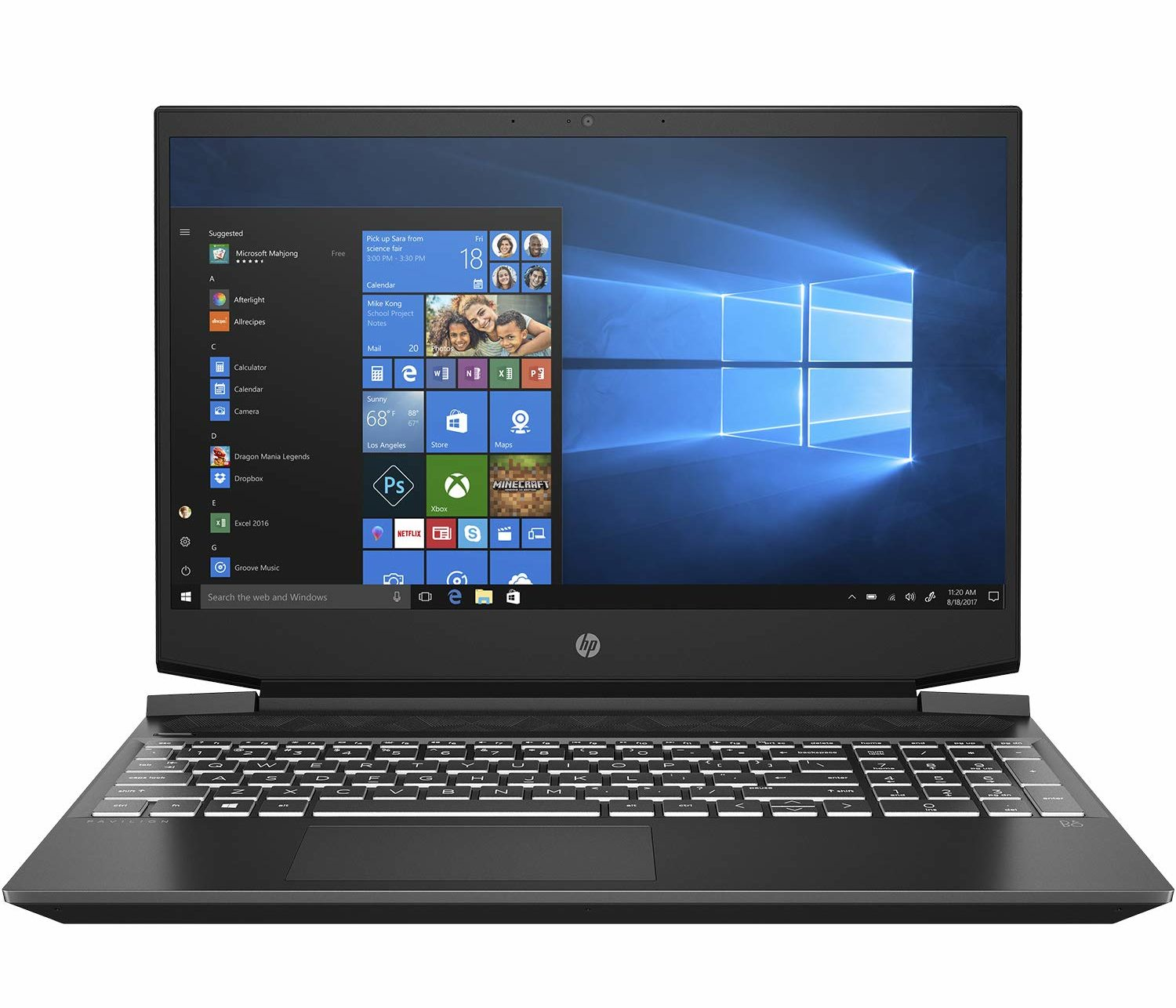 best gaming laptop under 60000 in India-HP Pavilion Gaming ec0098AX