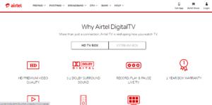 Airtel digital Tv-Buy-recharge