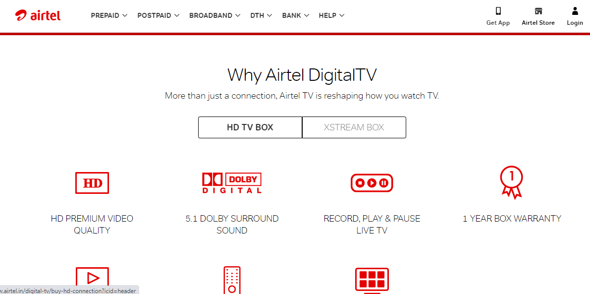 Airtel digital Tv-Buy-recharge - best dth service provider