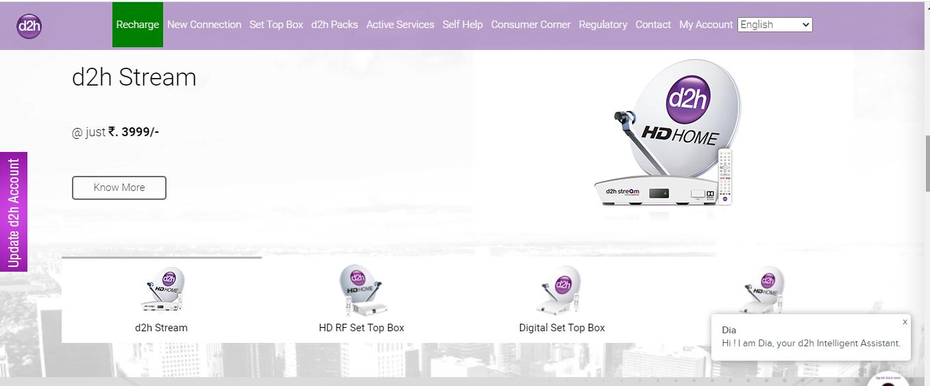 videocon d2h-recharge guide-best dth service provider
