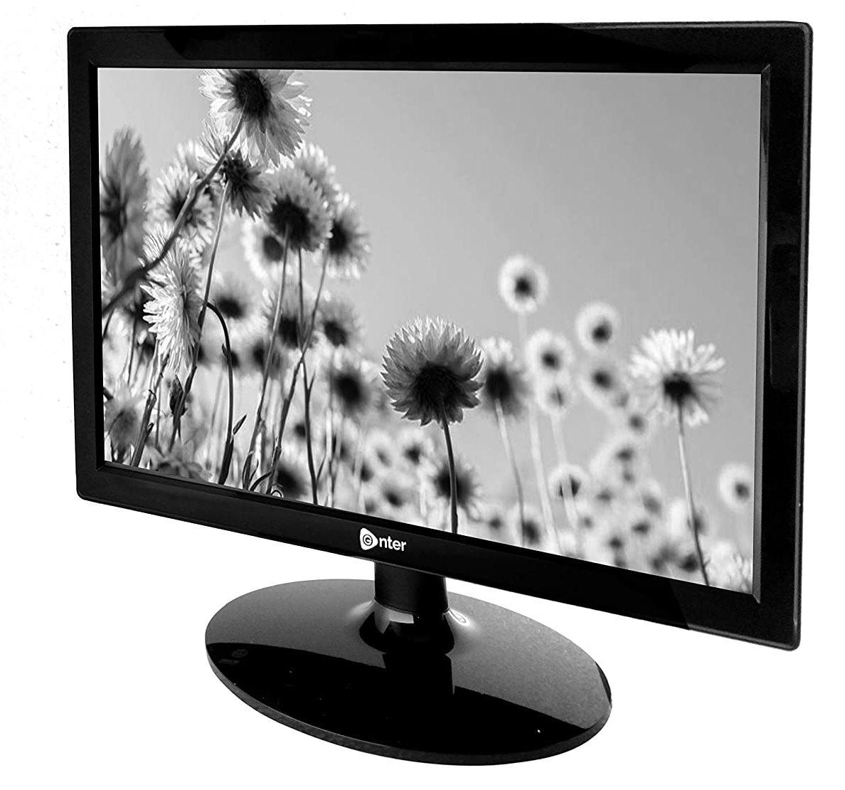 Enter HD LED Backlit Monitor with HDMI & VGA
