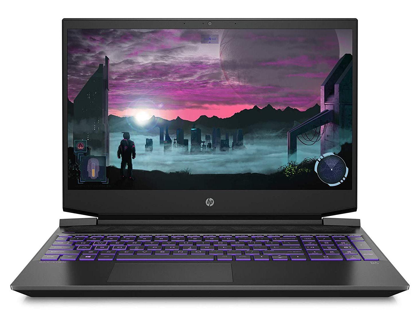 HP Pavilion Gaming Laptop-best amd gaming laptop under 70000 2021 India
