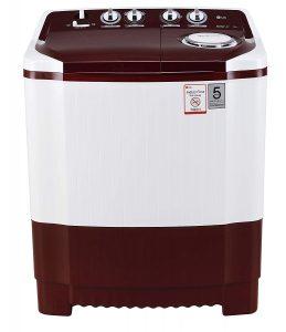 LG 7 kg Semi-Automatic Top Loading Washing Machine-best washing in India under 10000 India 2021
