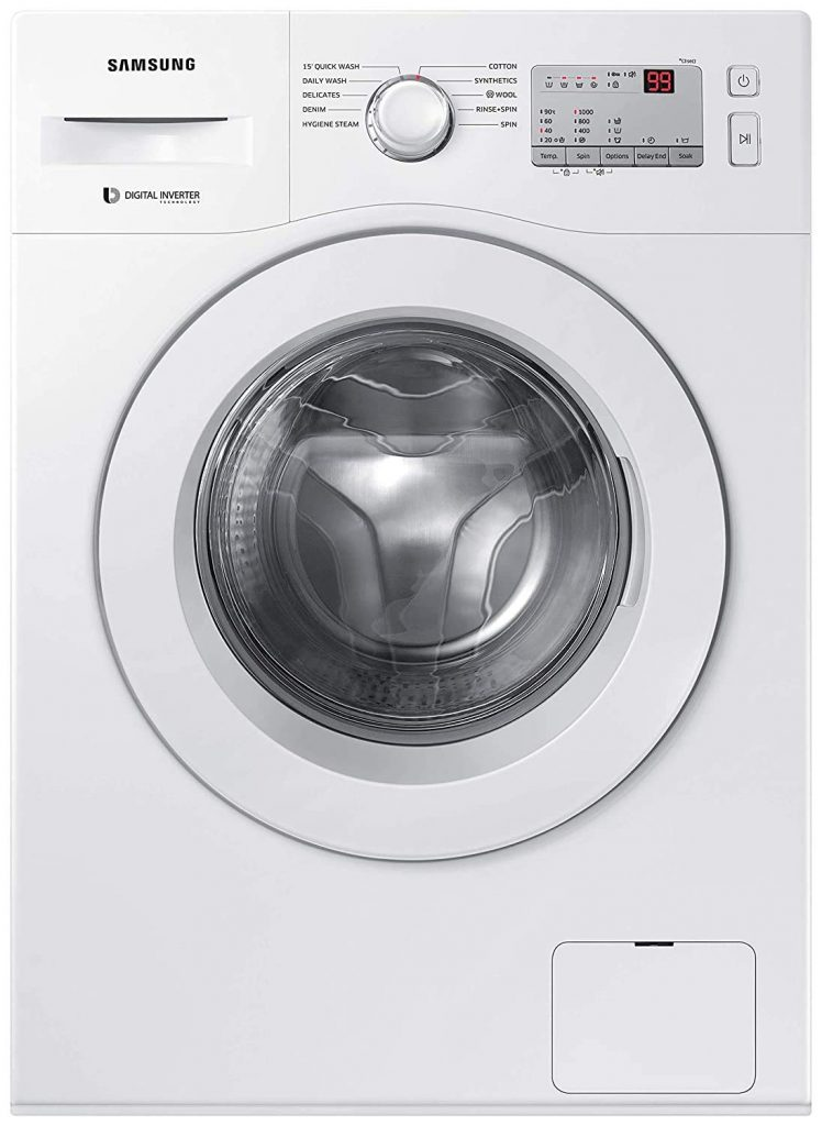 Samsung 6kg Inverter Fully Automatic Front Loading - Best Washing Machine in India 2021